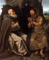 giovanni-gerolamo-savoldo-sant-antonio-abate-e-san-paolo-eremita-1514-1515