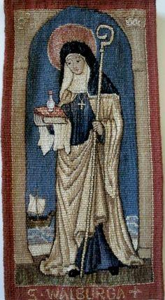 Saint Of The Day 25 February St Walburga Anastpaul