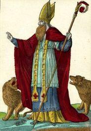 Saint Blaise, estampe, Georgin François (graveur), Pellerin (imprimeur, libraire, éditeur), Epinal, MuCEM