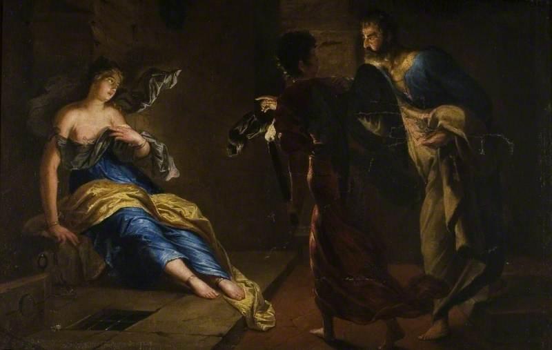 van Honthorst, Gerrit, c.1590-1592-1656; St Agatha Healed by St Peter