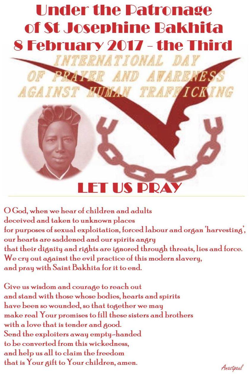 thrid-int-day-of-prayer-humantrafficking-st-bakhita-8-feb