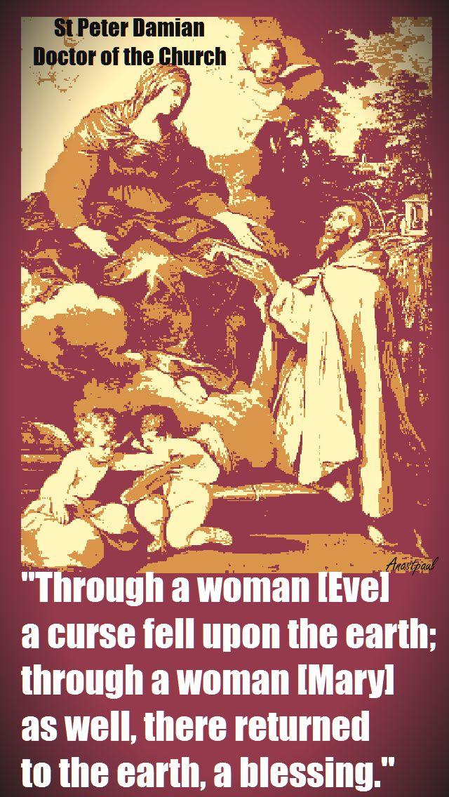 through-a-woman-st-peter-damian