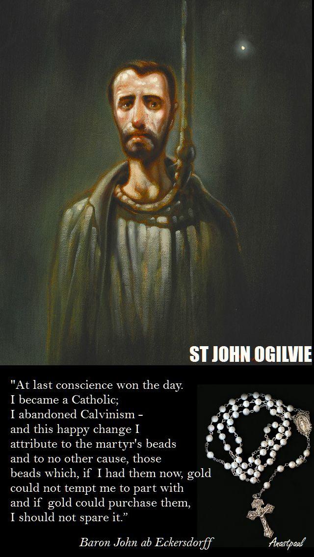 AT LAST CONSCIENCE-STJOHN OGILVIE