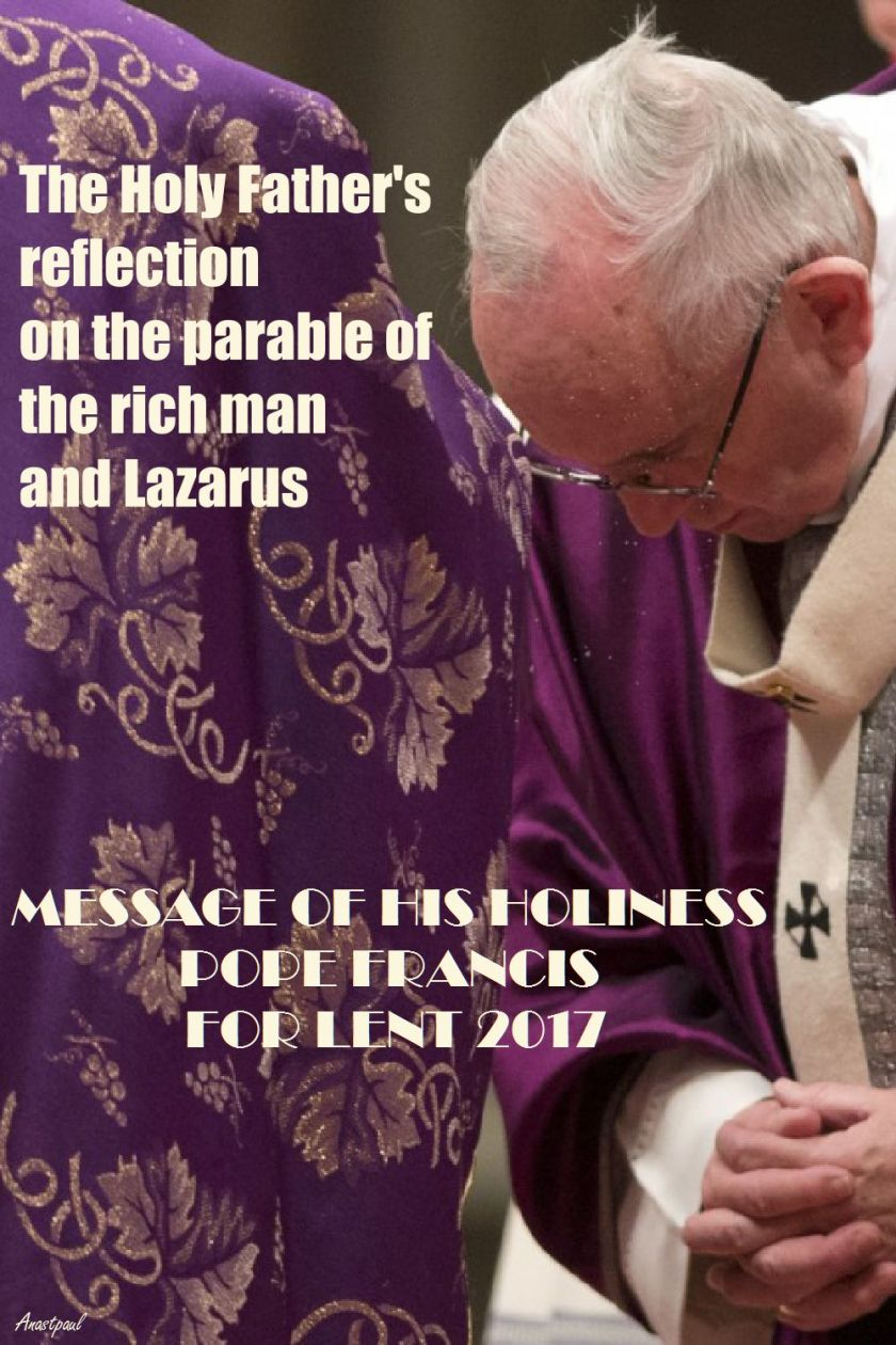 HOLY FATHER-LENT2017