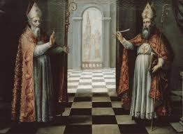 Saint Isidore and Saint leander of Sevilla. Ignacio de Ries