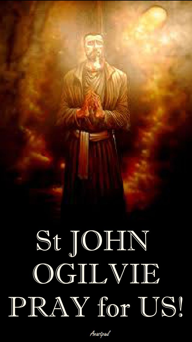 ST JOHN OGILVIE PRAY FOR US 2