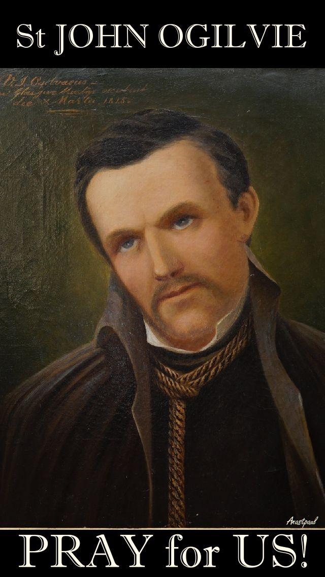 ST JOHN OGILVIE SJ-PRAY FOR US 3