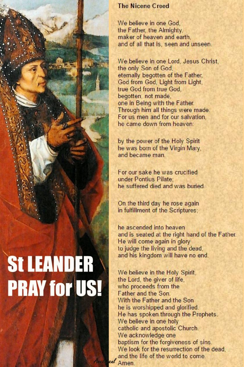 ST LEANDER AND THE NICENE
