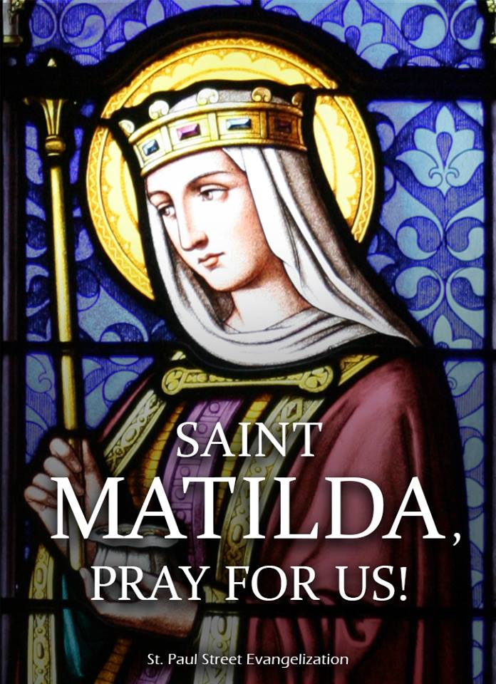 ST MATILDA - MARCH 14