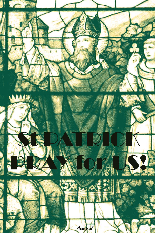 ST PATRICK PRAY FOR US 2