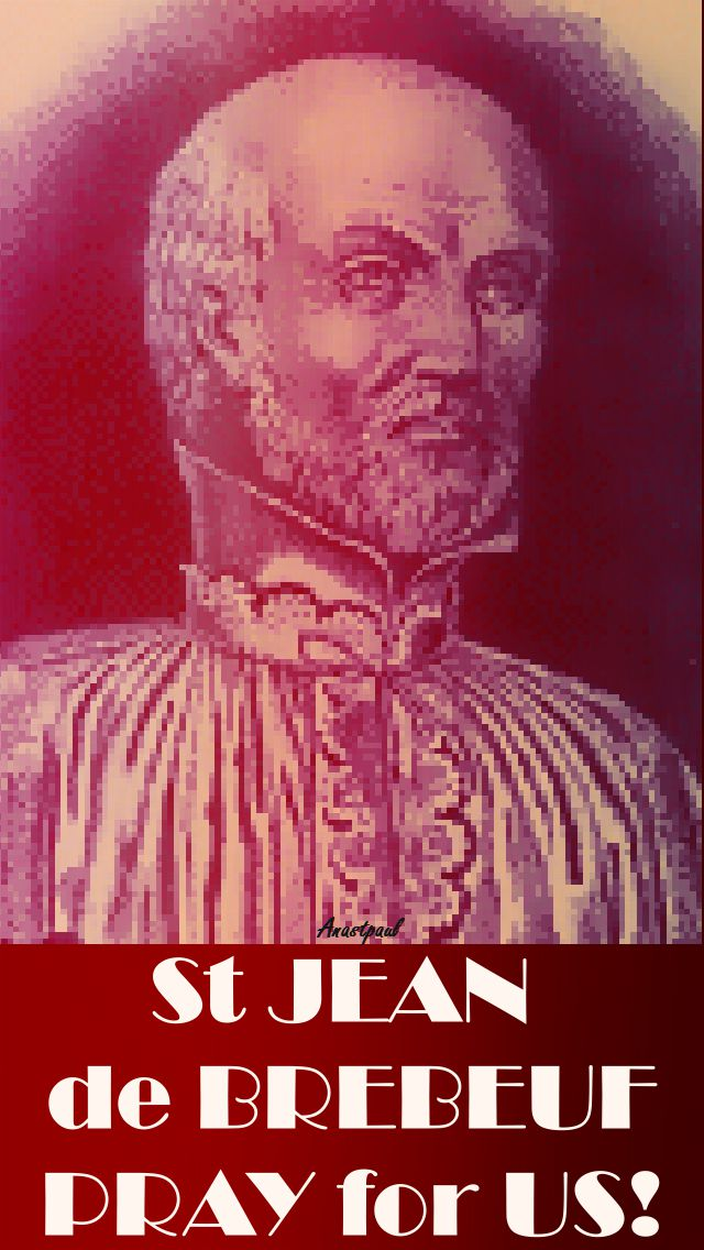 STJEANDEBREBEUF-PRAY FOR US 2