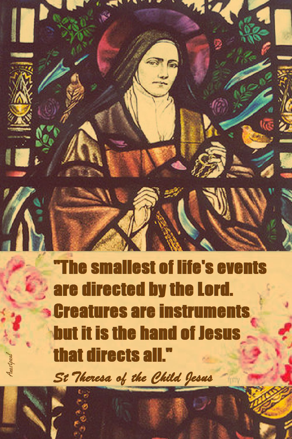 THE SMALLEST OF LIFE;S EVENTS-ST TOFL