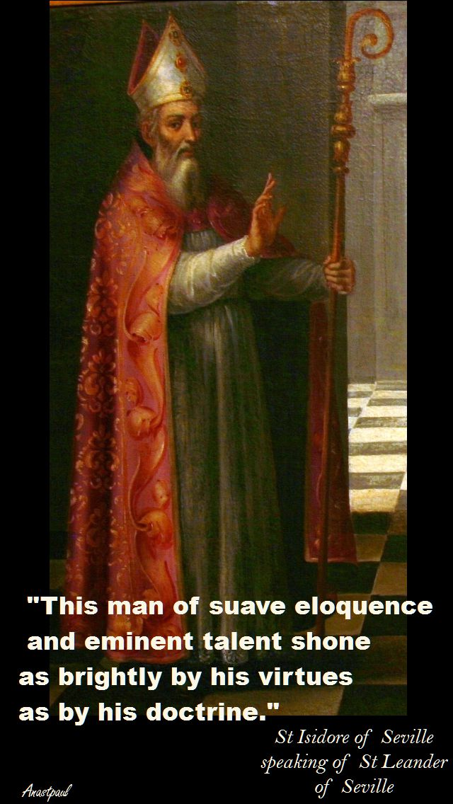THIS MAN-ST ISIDORE OF SEVILLE