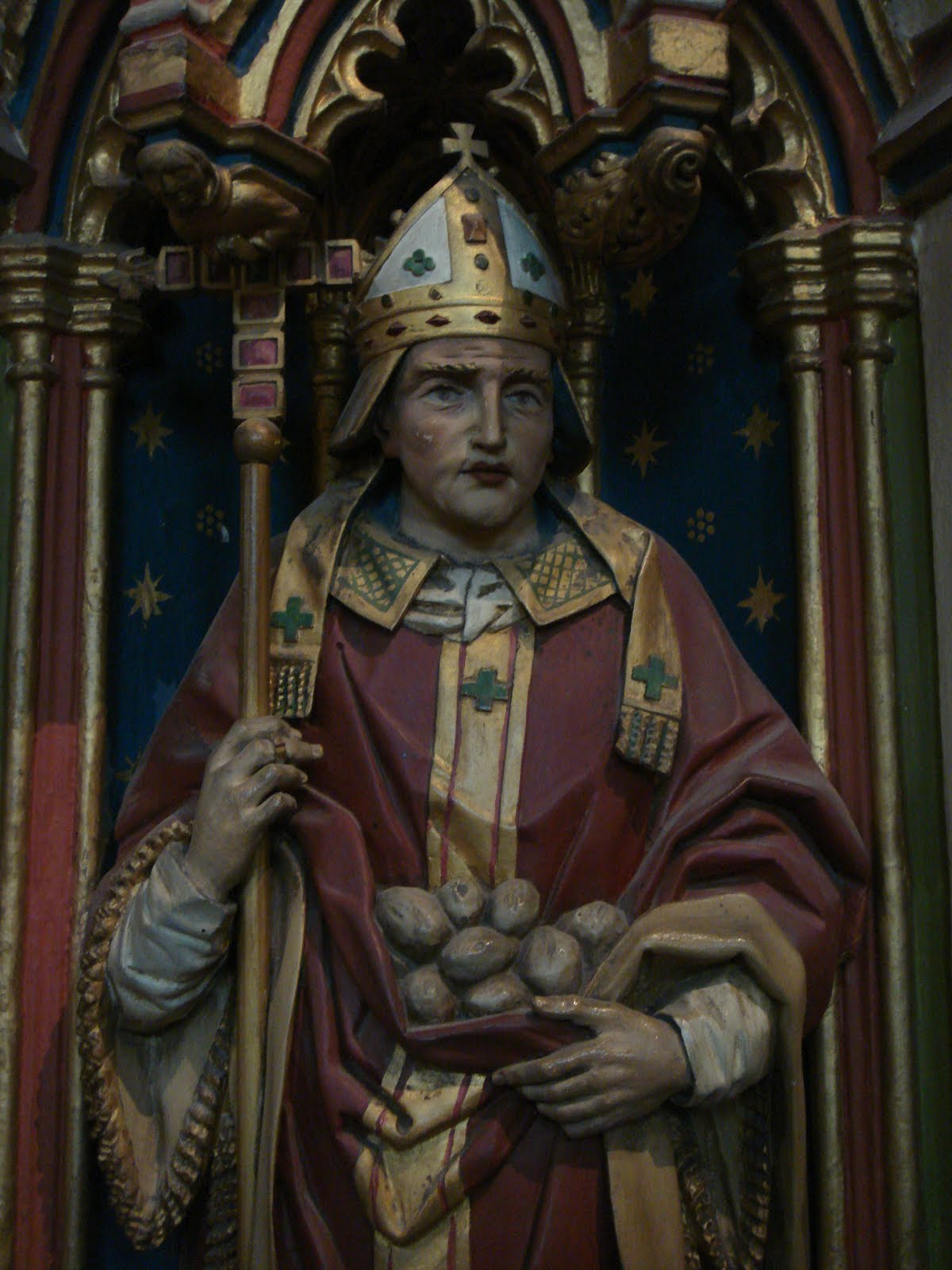 Alphege on the Chichele tomb in Canterbury Cathedral