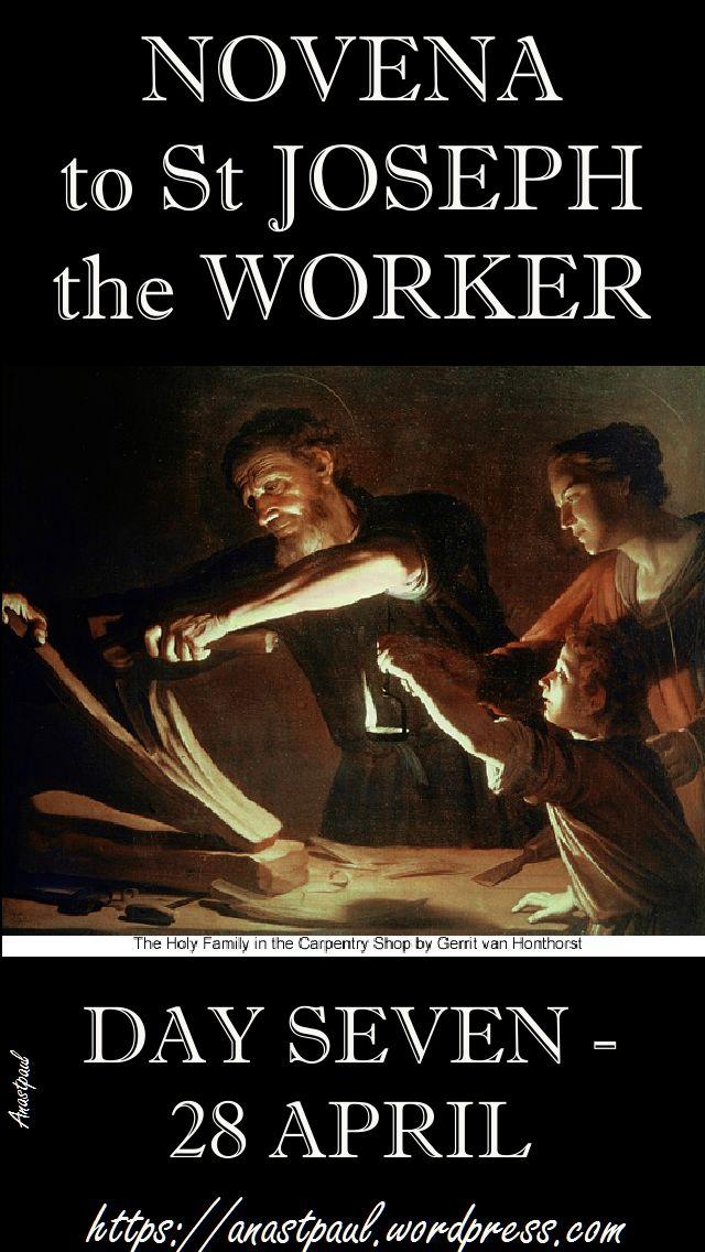 day seven novena st joseph the worker