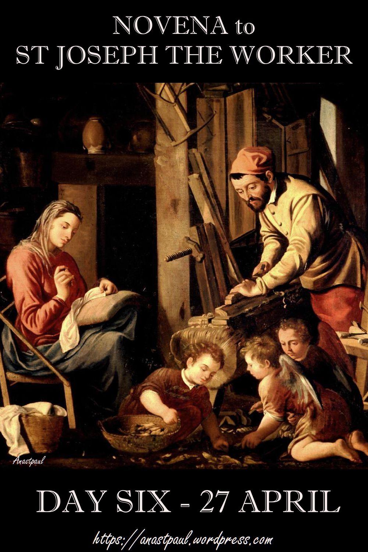 DAY SIX NOVENA ST JOSEPH THE WORKER