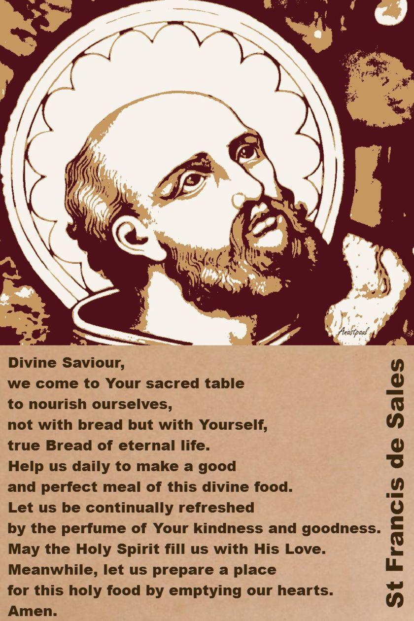 DIVINE SAVIOUR-ST F DE SALES