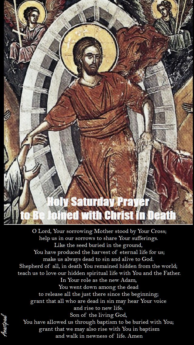 HOLY SAT PRAYER