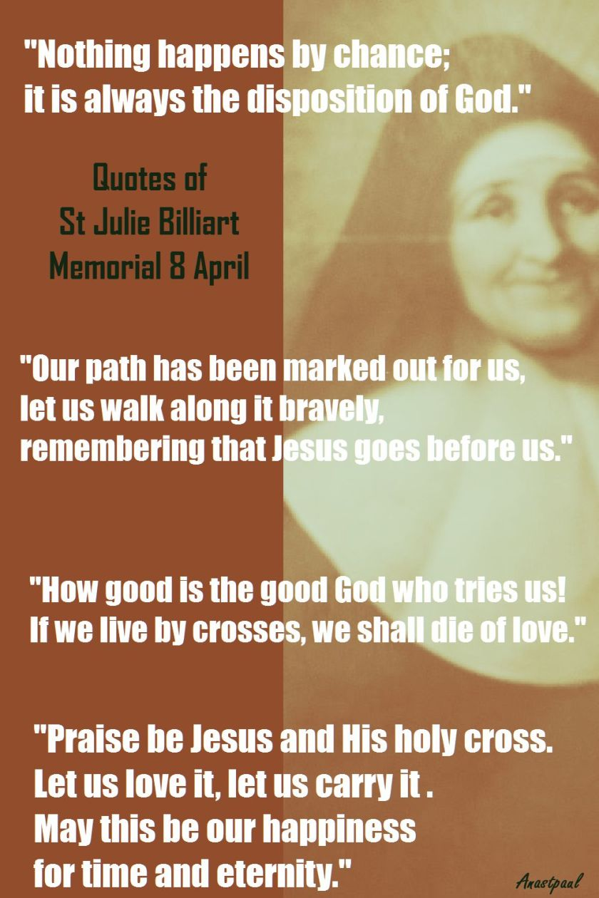 QUOTES OF ST JULIE BILLIART