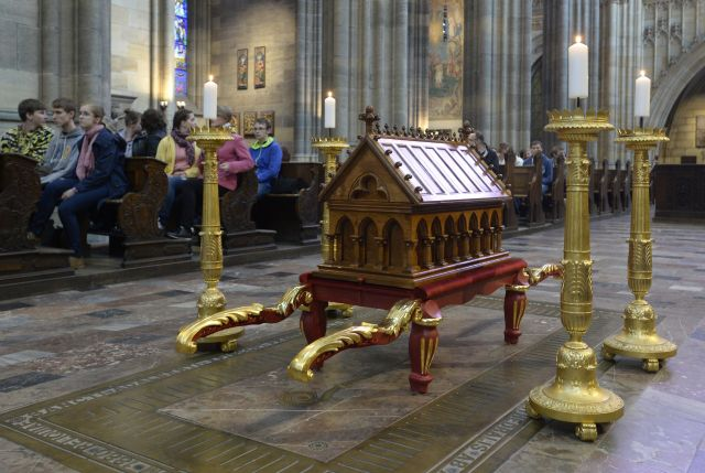 relics of st adalbert inprague