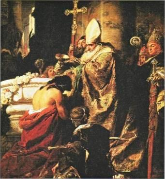 s adalbert baptising pagans