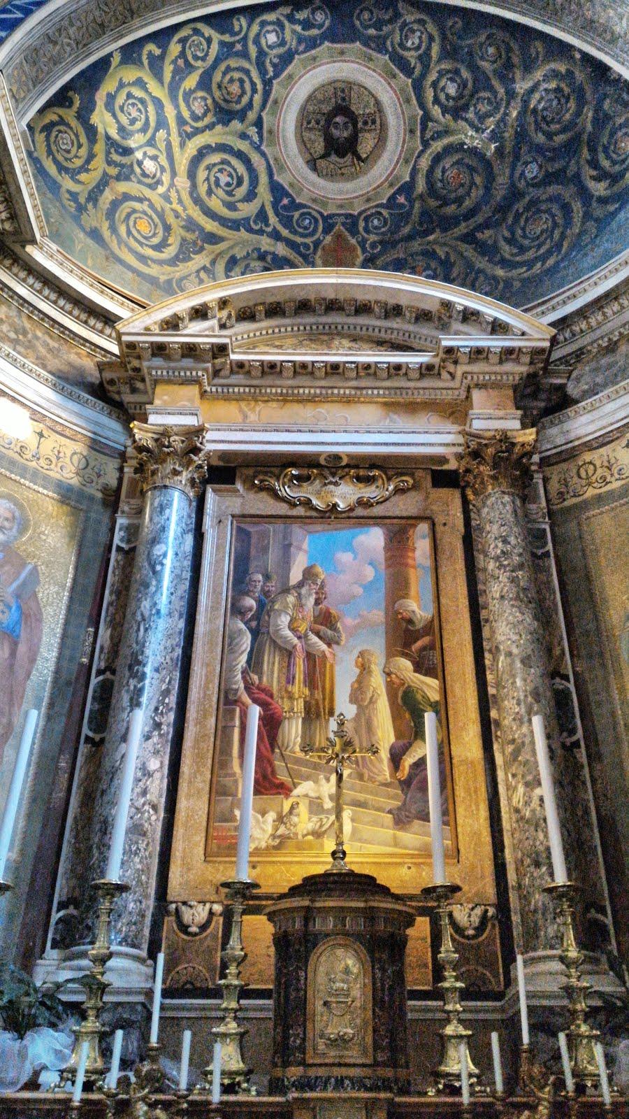 Santa Maria in Monticelli altar