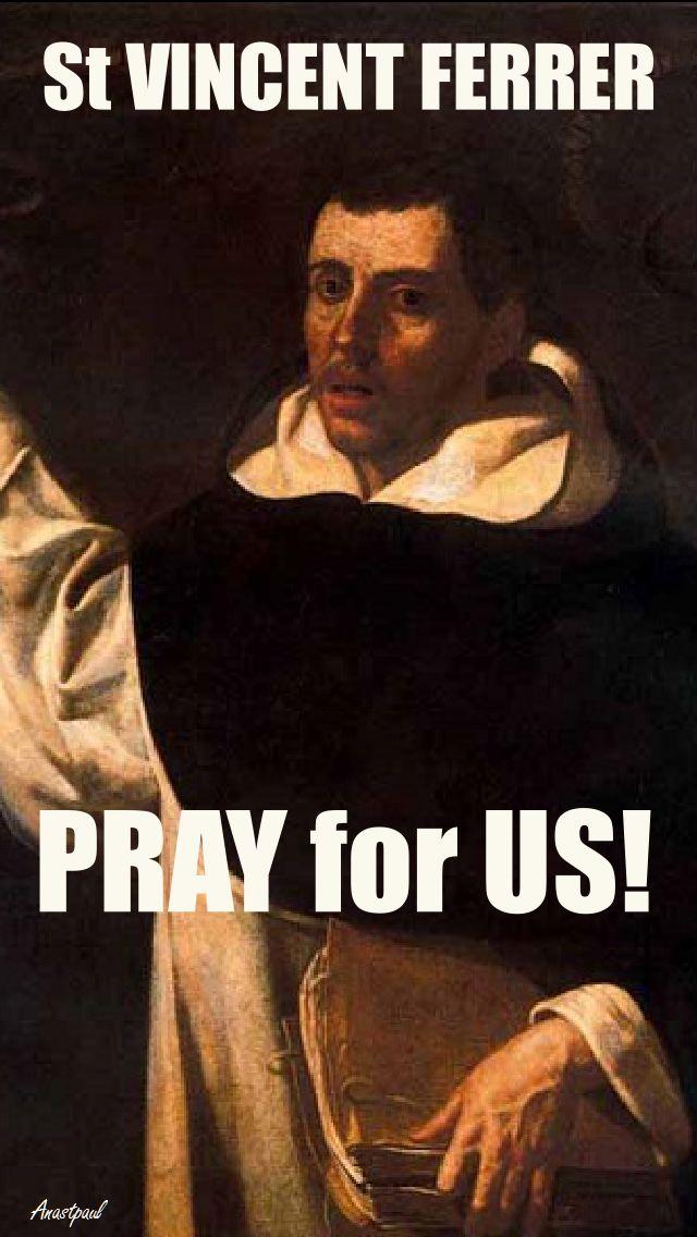 SR V FERRER PRAY FOR US 2