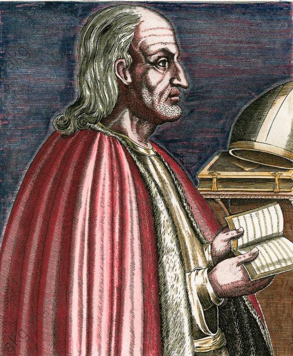 Anselm v.Canterbury,Porträt/Kupferstich - Anselm of Canterbury, Portrait / Copper engraving - Anselme de Cantorbéry, portrait / Gravure