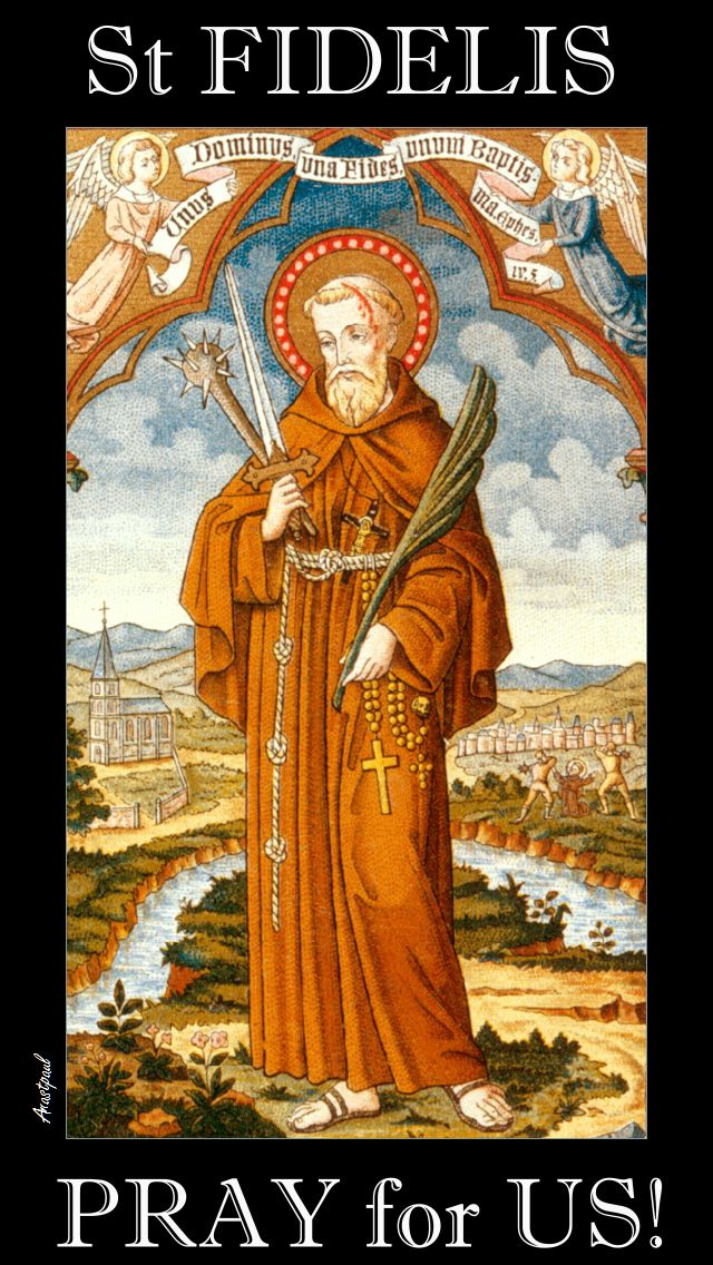 ST FIDELIS PRAY FOR US 2