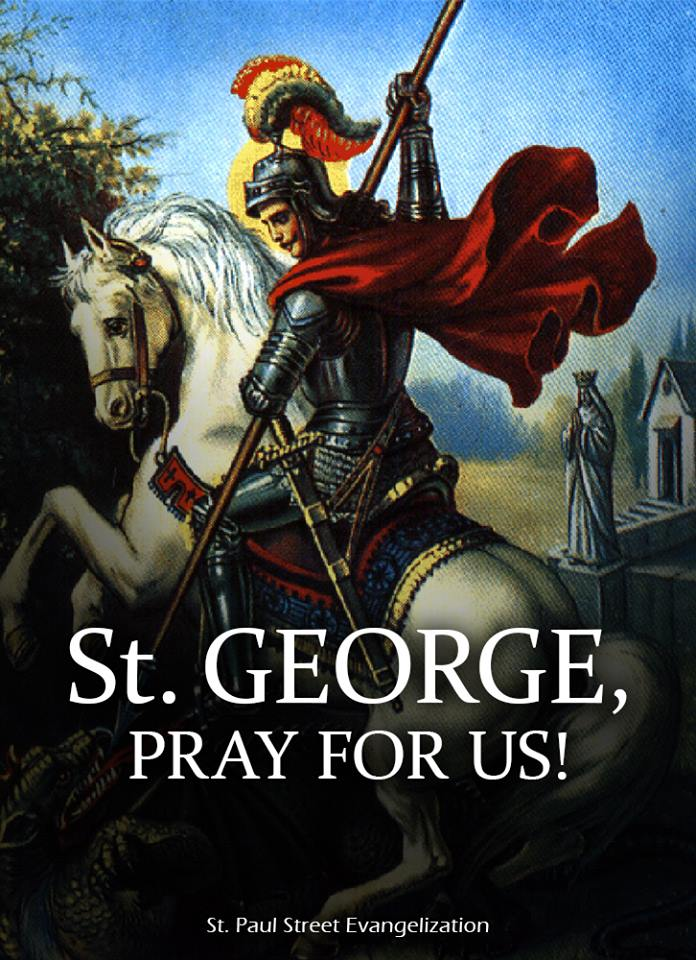 ST GEORGE - APRIL 23