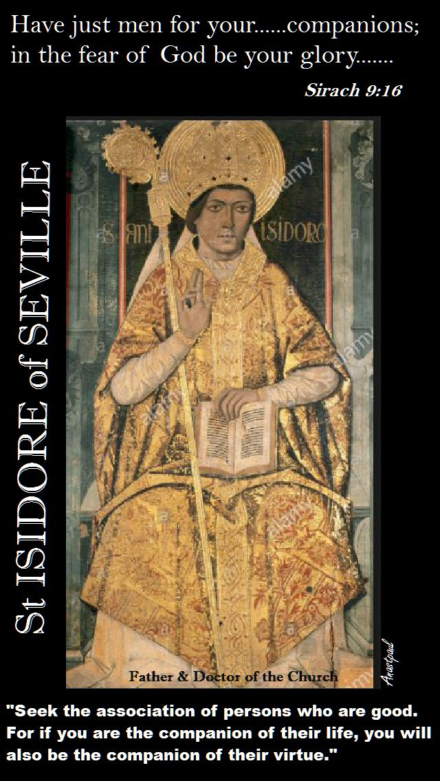 ST ISIDORE-QUOTE