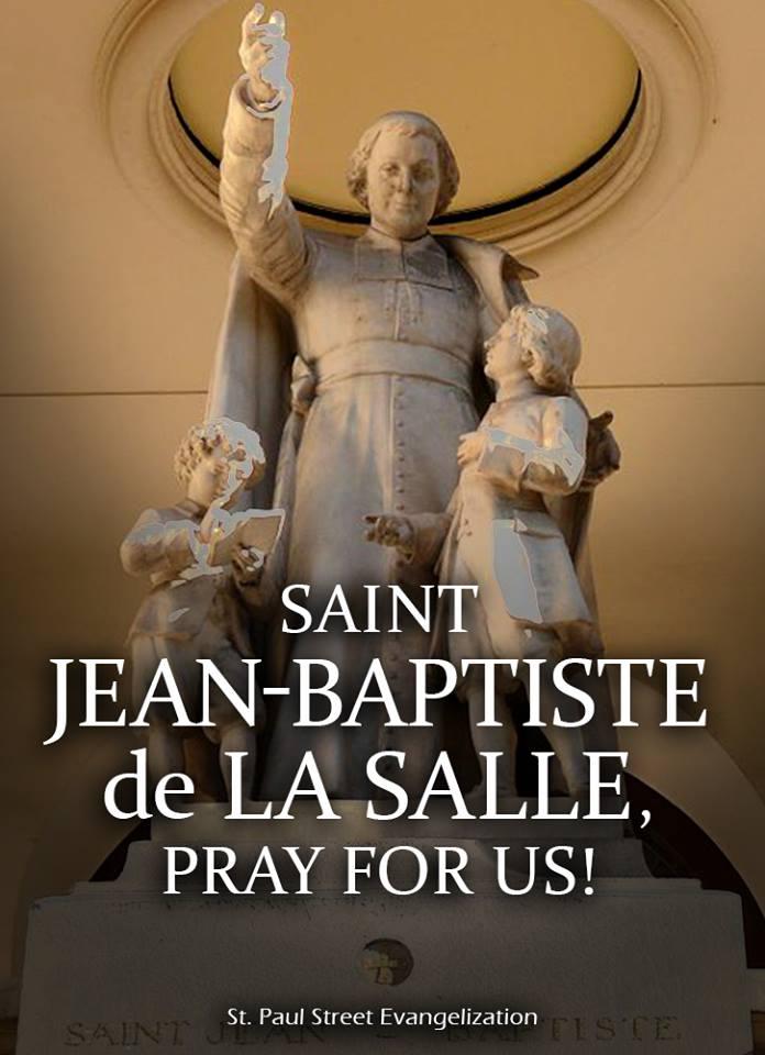 ST JOHN BAPTISTE DE LA SALLE - APRIL 7