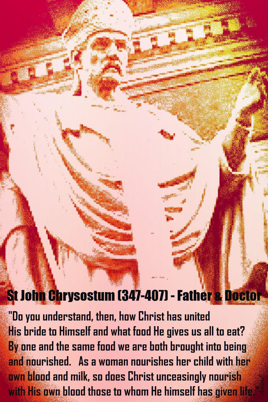 ST JOHN CHRYSOSTUM-BAPTISM AND EUCHARIST