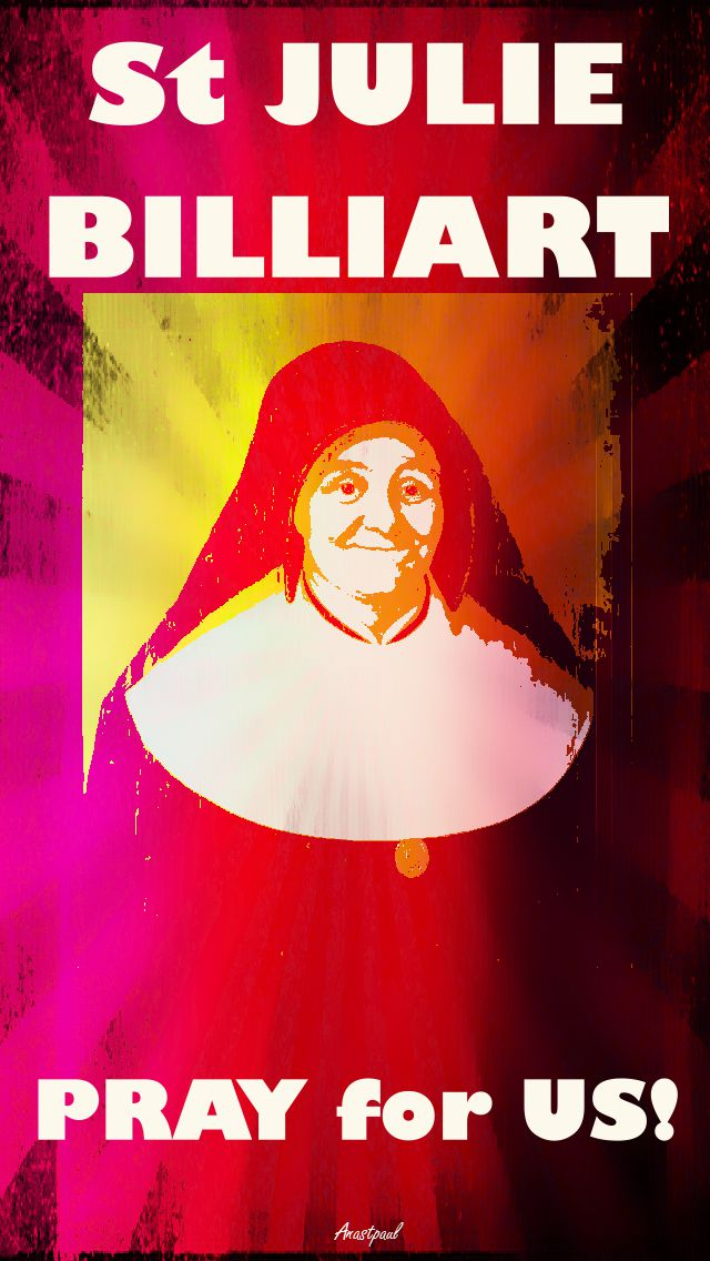 ST JULIE BILLIART PRAY FOR US 2