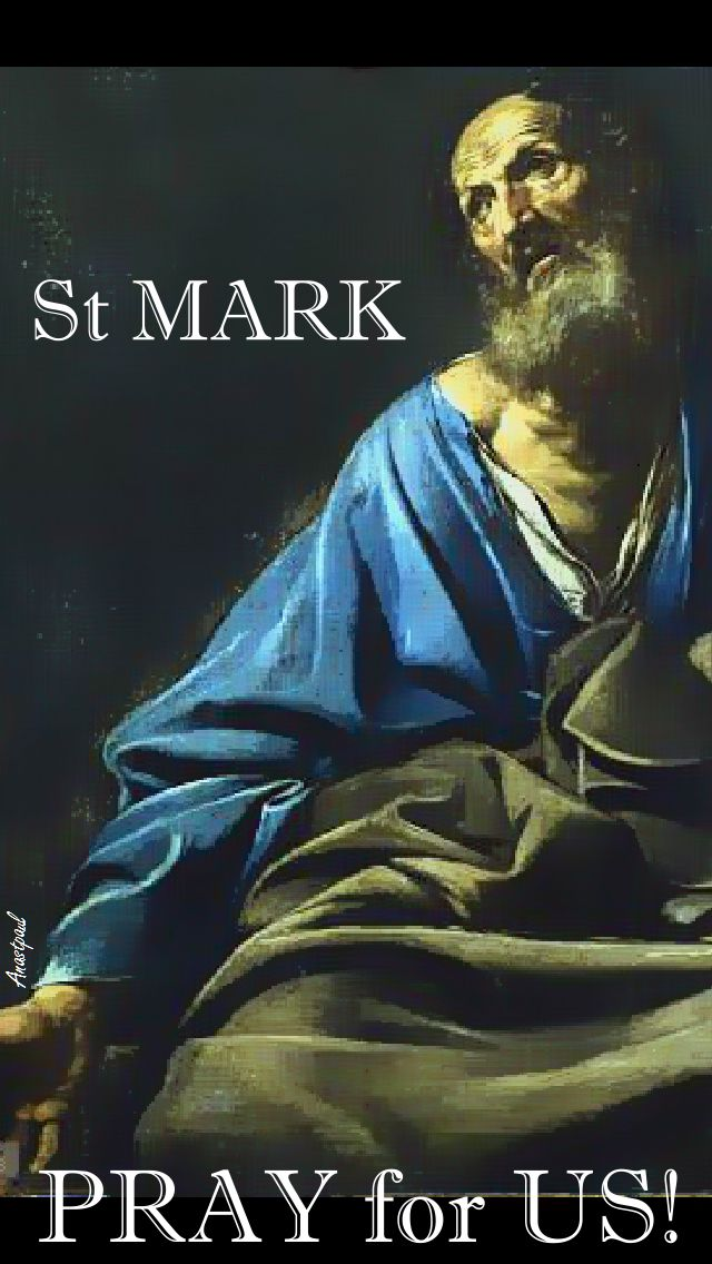 ST MARK PRAY FOR US 2