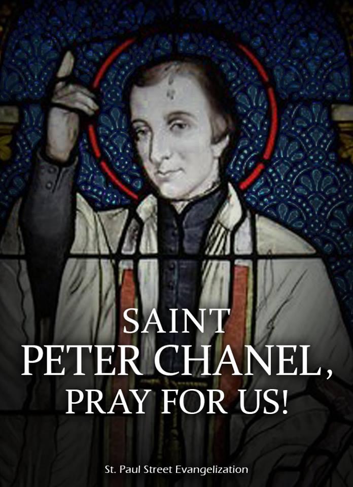 ST PETER CHANEL - APRIL 28