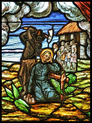 ST PETER CHANEL MARTYRDOM