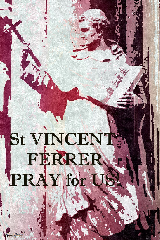 ST V FERRER PRAY FOR US 3