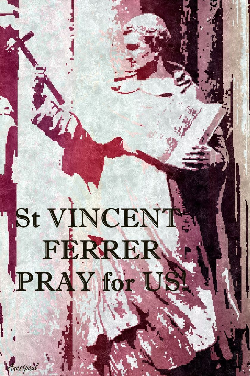ST V FERRER PRAY FOR US 3