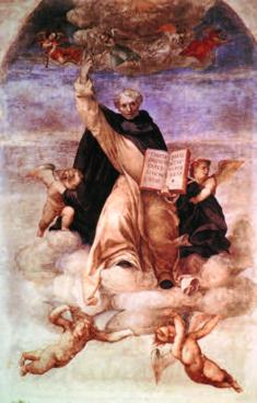 St. Vincent Ferrer in Glory, 1513 Lorenzo Lotto