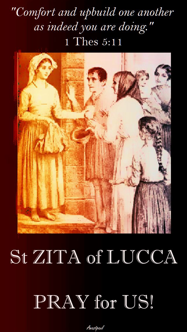ST ZITA AND 1 THES 5-11