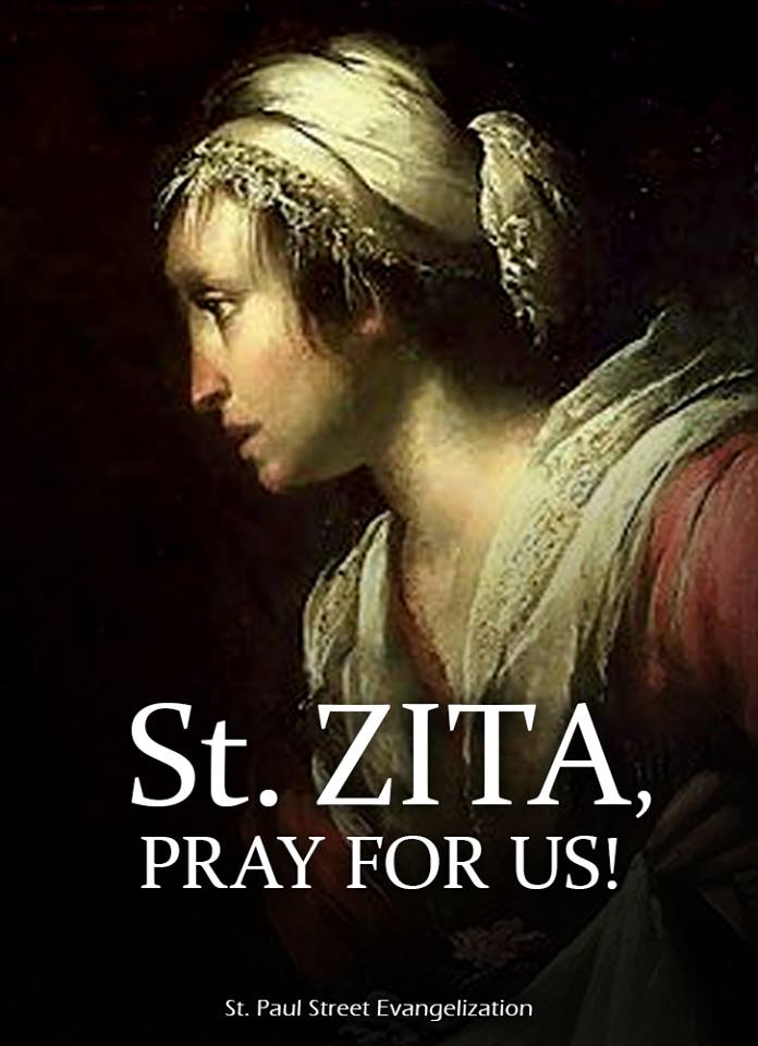 ST ZITA - APRIL 27
