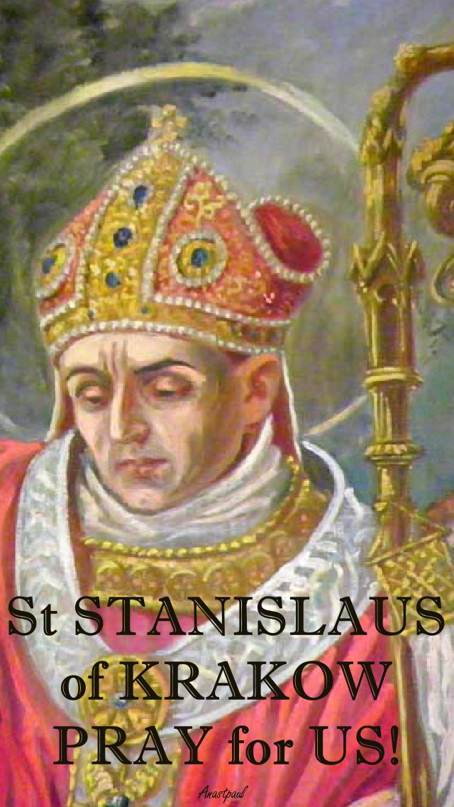 STANISLAUS PRAY FOR US