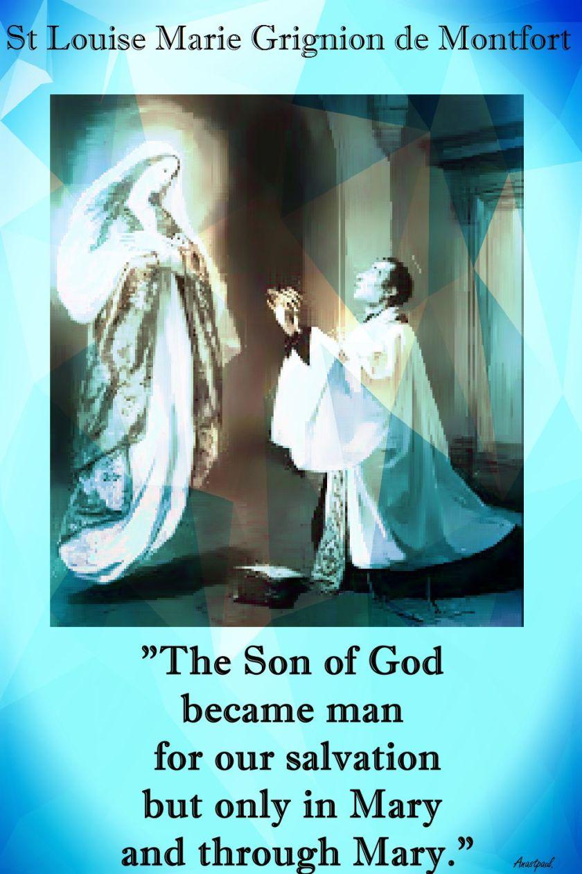 the son of god - st louise de montfort