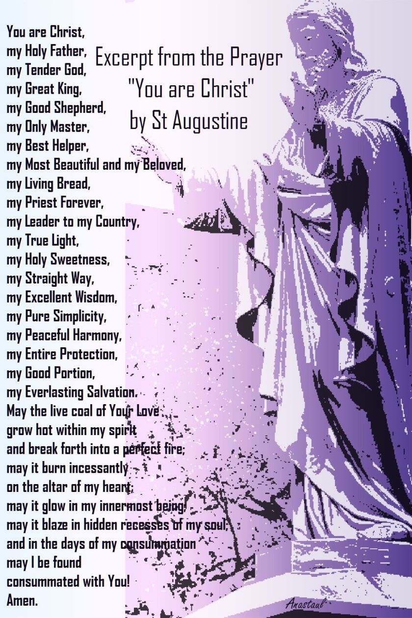 YOU ARE CHRIST-ST AUGUSTINE