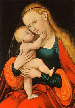 Gnadenbild Mariahilf - Lucas Cranach the Elder (1472–1553)