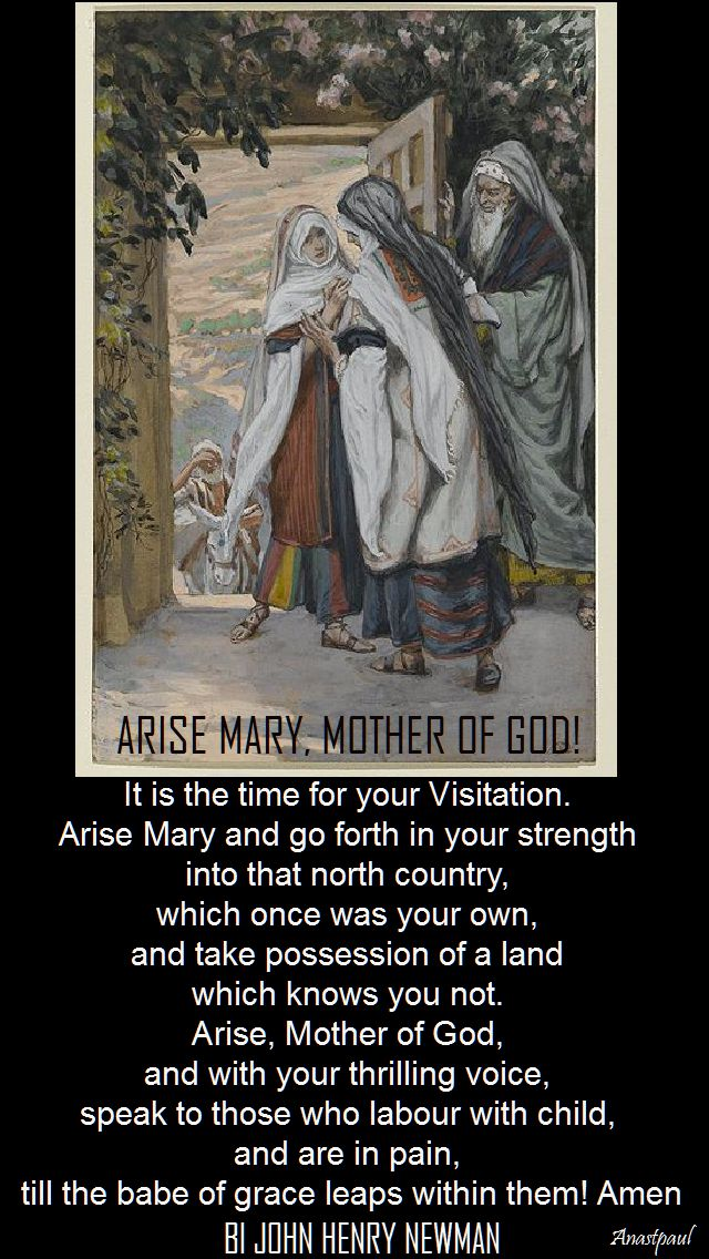 arise mary, mother of god - bl john henry newman