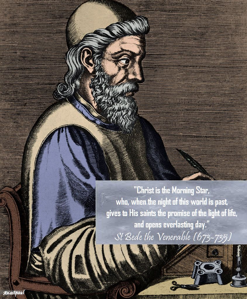 christ is the morning star-st bede
