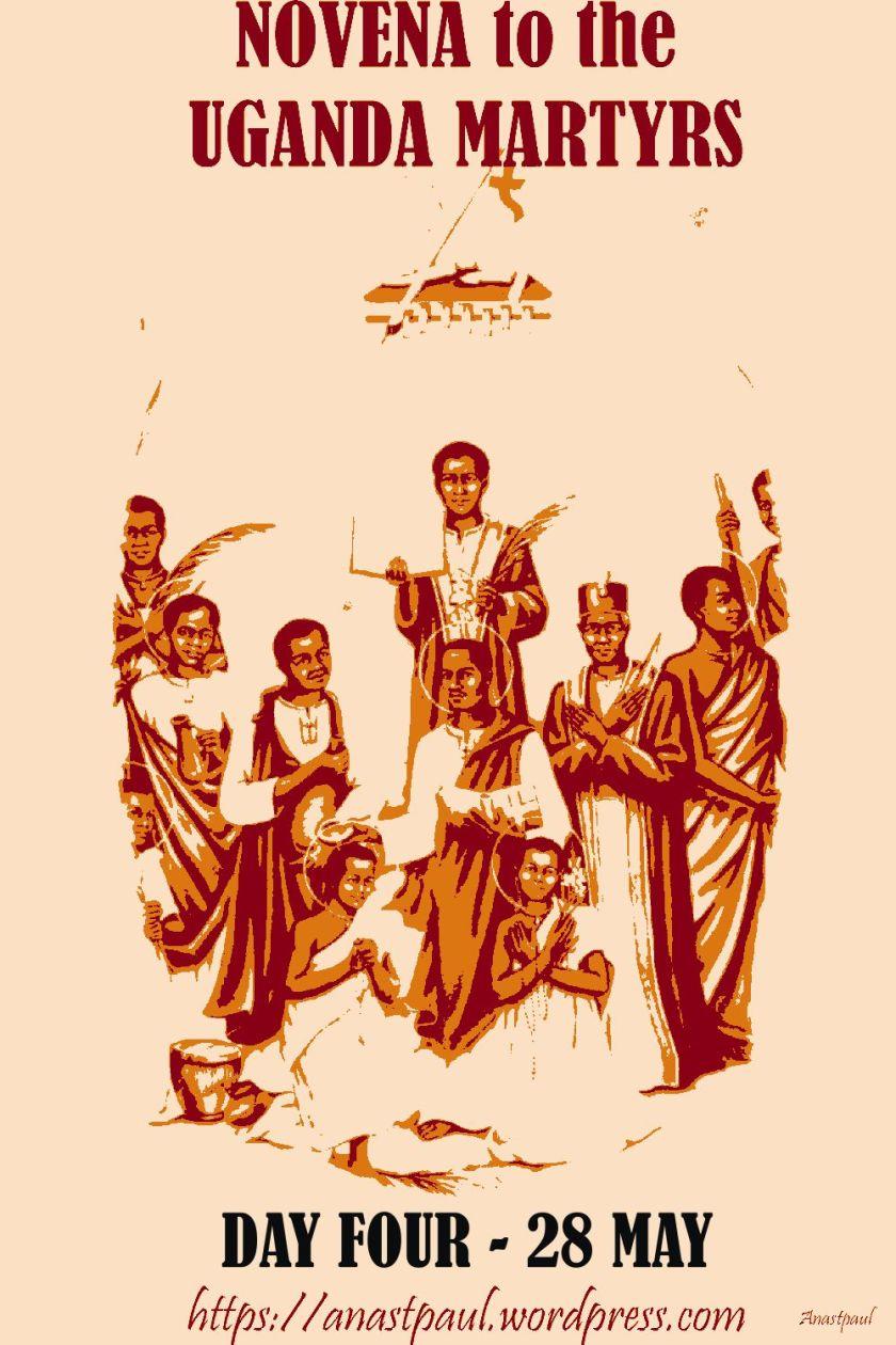 day four uganda martyrs novena