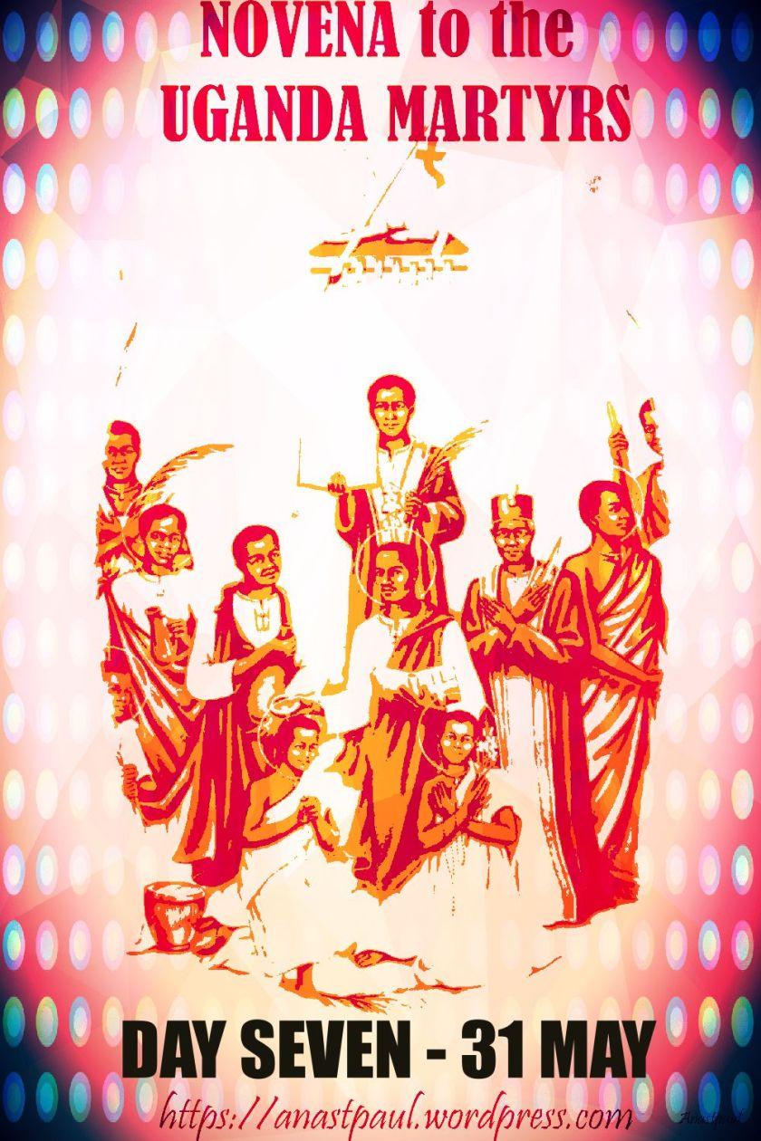 day seven novena uganda martyrs